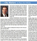TRAIL NEWS - Autumn 2015 'City Matters' column.