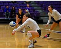 COURTESY: UNIVERSITY OF PORTLAND  - Emily Liger and the Portland Pilots will visit Stott Center on Wednesday for a 7 p.m. cvolleyball lash with the Portland State Vikings.