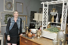 GARY ALLEN - Vintage - Urban Relics owner Kelli Reimer has long collected items that complete a room's décor. Now she sells such items out of her business in downtown Newberg.