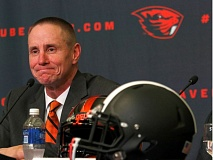TRIBUNE FILE PHOTO: JONATHAN HOUSE - First-year Oregon State football coach Gary Andersen says the Beavers will have a regular presence in Portland.