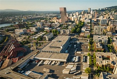 COURTESY PORTLAND DEVELOPMENT COMMISSION - The Broadway Corridor area looking south towards downtown.