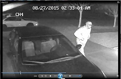 COURTESY OF WPD - The suspect in a Championship Drive burglary is sought.