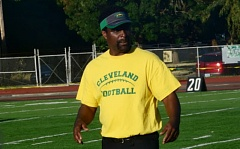 COURTESY: GARY KEMP - Cleveland coach Wayne Harris will have to watch his young offense mature this season.
