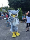 SUBMITTED PHOTO - As one last summer hurrah, the West Linn Library Foundation hosted a Late Night at the Library event last week. Attendees were encouraged to wear pajamas to the event, which featured plenty of fun food, live music, story time and more.