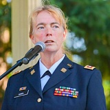 FILE PHOTO - Clackamas-based Historical Outreach Foundation executive director Alisha Hamel is in the Army Reserve and has served more than 30 years in the Armed Forces.
