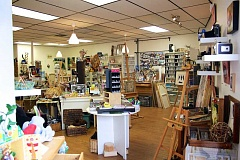 CONNECTION PHOTO: KELSEY O'HALLORAN - Hillsdale Art Supply Company is full of creative potential, with new, used and vintage art supplies at discounted prices.