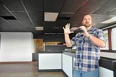 GARY ALLEN - Renovation - Newberg's Frack Burger location has received its health permit and is preparing to open, although restauranteur James Frackowiak said the exact date has not been hammered out yet.
