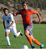 LON AUSTIN - Andrew Gross (10) goes on the attack in last weeks game at Crook County.