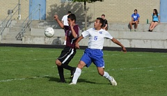 TIMES FILE PHOTO - Valley Catholic captain Victor Rodriguez is one of just four seniors on the squad this season.
