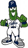 COURTESY: PORTLAND PICKLES - Dillon has been chosen as the mascot of the Portland Pickles baseball team.