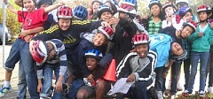 COURTESY PORTLAND BUREAU OF TRANSPORTATION  - Safe Routes to Schools provides 10 hours of bike safety instruction to fourth and fifth graders throughout the city.
