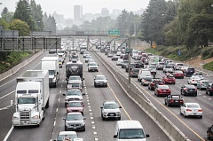 PORTLAND TRIBUNE FILE PHOTO - Gridlock is growing on regional roads. Government funding gridlock is continuing , too.