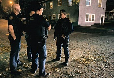 PORTLAND TRIBUNE FILE PHOTO - The Portland Police Bureau transferred six additional officers to the Gang Enforcement Team this year but has 39 vacant sworn officer positions.