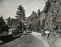 CONTRIBUTED PHOTO - The Historic Columbia River Highway was built to showcase the Gorge's natural beauty.