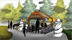 CONTRIBUTED PHOTO: OREGON METRO - A proposed base camp would allow children to discover the wilderness and play creatively.