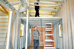 PAMPLIN MEDIA GROUP: GARY ALLEN - Luke Nodine, a Newberg contractor, recently began building tiny houses with steel frames, under the name Thimble Homes.