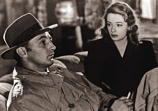 STILL FRAME FROM FILM - Robert Mitchum and Jane Greer star in 'Out of the Past,' a 1947 film noir being screened at the Tualatin Public Library on Sunday, Nov. 8.