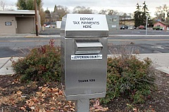 HOLLY M. GILL - Tax payments can be made into a drop box outside the Jefferson County Courthouse Annex.