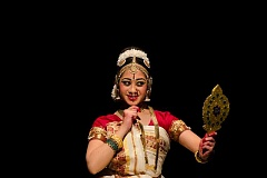 COURTESY PHOTO - Dramatic performances and dance moves bring characters in the storytelling art of Bharatanatyam to life.