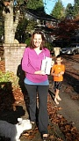 SUBMITTED PHOTOS  - Lisa McGrath won an iPad mini at a sweepstakes drawing for Soroptimist International of Lake Oswego/West Linn.