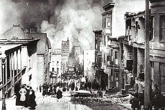 SUBMITTED - San Francisco during the earthquake and fire.