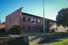 PAMPLIN MEDIA GROUP: KELSEY O'HALLORAN - The Jerome F. Sears Army Reserve Center on Southwest Multnomah Boulevard is scheduled to reopen as a homeless shelter by Thanksgiving.