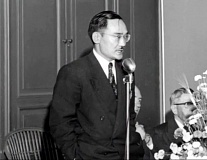 COURTESY OF THE YASUI FAMILY - A fiery orator, Minoru Yasui spent decades after his 1942 arrest and conviction for a curfew violation in Portland fighting for Japanese Americans' constitutional rights.