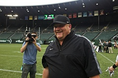 TRIBUNE FILE PHOTO: JAIME VALDEZ - Portland State's Bruce Barnum is the first Viking football boss to be named Big Sky coach of the year.