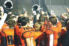 SOUTH COUNTY SPOTLIGHT - The Scappoose High School football team hopes to avenge its 47-34 Sept. 4 loss to the Cougars in the Class 4A state championship at noon Saturday at Hillsboro Stadium.