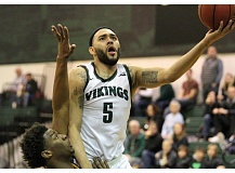 COURTESY: LARRY LAWSON - Cameron Forte led Portland State to a victory Saturday night against Multnomah.