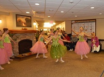 BARBARA SHERMAN - Northwest Dance Theatre ballerinas present a special performance of 'A Nutcracker Tea' at the King City Avamere on Nov. 28, much to the delight of the residents, as this was the perfect way to kick off the holiday season.