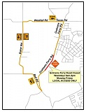 SUBMITTED PHOTO - A segment of Grahams Ferry Road will be closed through mid-February for a widening and improvement project.