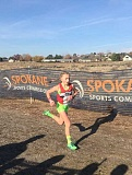 SUBMITTED PHOTO - River Grove fifth-grader Kate Peters placed 21st out of 294 girls, ages 9 and 10, in the U.S.A. Track and Field National Junior Olympic Cross Country Championships on Dec. 12 in Albuquerque, N.M. Placing in the top 25 makes her an All-American athlete.