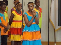 SUBMITTED PHOTO - The Imani Milele Childrens Choir from Uganda.