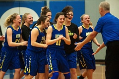 OUTLOOK PHOTO: JOSH KULLA - Barlow celebrates its 41-37 win on the road over rival Gresham Friday.