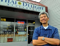 SPOKESMAN PHOTO: VERN UYETAKE - Sakchai 'Chai' Jivagunchainan left a career as a tobacco trader in Thailand to eventually open a Thai restaurant in Wilsonville.