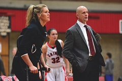 THE OUTLOOK: DAVID BALL - Mt. Hood center Kristin Rachinski is forced to watch from crutches on the sideline after suffering a severely sprained ankle over Christmas Break.
