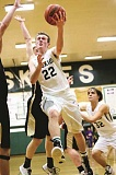 JO WHEAT - Tanner Scanlan and the No. 4 Huskies scored a decisive win in the Oregon West Conference race, beating No. 2 Philomath 53-50 Friday night to a one-game lead in the race for the conference title.