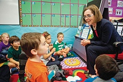 TIMES FILE PHOTO - Oregon Governor Kate Brown has thus far tried to stay neutral in what may be a coming political battle over a gross receipts tax hike known as Initiative Petition 28.