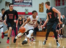 OUTLOOK PHOTO: JOSH KULLA - Clackamas dumped David Douglas on the road Friday 67-53.