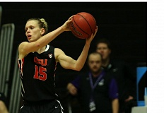 TRIBUNE FILE PHOTO: DAVID BLAIR - Guard Jamie Weisner's torrid shooting and her team's solid defense added up to a big Monday night win for the Oregon State women's basketball team at Gill Coliseum.