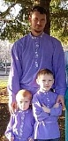 COURTESY PHOTO: TAYISIA BURKOFF - Irinei Burkoff, who died when a truck he was in crashed into a rural Clackamas County river, is pictured with his two sons, Sava (left), 2, and Damian, 5.