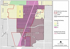 SUBMITTED ILLUSTRATION - The city of Madras and Jefferson County will consider a new, 'mixed use employment' zone at meetings on Feb. 23 and 24.