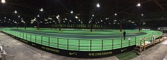 COURTESY: BENYON SPORTS - Indoor track and field competition has been going on this year at the House of Track in Northwest Portland, built by Benyon Sports, as a prelude to two major events coming soon to the Oregon Convention Center.