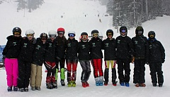 SUBMITTED PHOTO - The Tigard ski teams fared well at last week's Metro League race.