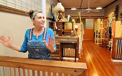 GARY ALLEN - Renovated - An antique mall is on its way to downtown Newberg as business owner Theresa Pollock       prepares to open T's Antiques in the space formerly home to Northwest Tax Accountants.