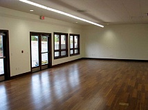The expanded rooms are light and bright, with plenty of natural light coming through windows and doors.