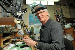 Although he has been in downtown Lake Oswego for 40 years, Dyke Vandenburgh looks he has many years left as one of the Northwests finest jewelers.