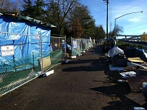 PORTLAND TRIBUNE FILE PHOTO - The public deserves a chance to testify before on the City Council on Mayor Charlie Hales' new homeless camping policies, inlcuding sanctioning camps like Hazelnut Grove in North Portland.