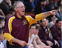 THE OUTLOOK: DAVID BALL - Damascus Christian coach Terry Calhoun called timeout with 0:07 left to design a final play, as the Eagles knocked off No. 1 Yoncalla in the 1A quarterfinals Thursday.
